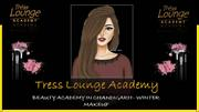 Makeup Academy in Chandigarh for Winter makeup Tress Lounge Academy