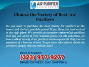 Choose the Variety of  Best  Air purifiers
