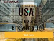 Chocolate Home Brew Beer | Texas Brewing Inc.