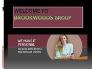 Staffing, Recruiting and Program Management Services at brookwoods