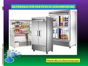 Refrigeration services in Johannesburg