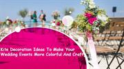 Kite Decoration Ideas To Make Your Wedding Colorful
