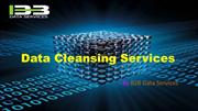Data Cleansing Services | Data Cleansing | Data Cleansing Techniques