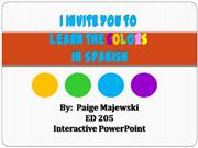 Interactive Powerpoint