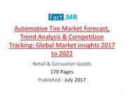 Automotive Tire Market Upcoming Trends by 2022
