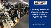Leading Name In Sporting Goods Store – Play It Again Sports