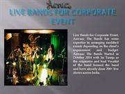 Live Bands for Corporate Event | Aawaaz