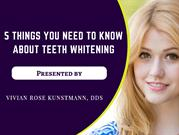 Quick and Affordable Cosmetic Teeth Whitening Treatment