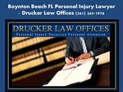 Boynton Beach Accident Attorney