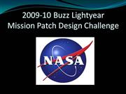 NASA Buzz Lightyear Mission Patch Design