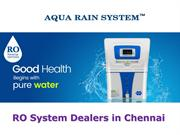 RO System Dealers in Chennai