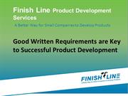 Good Writter Requirements Are Key To Successful Product Development