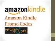 Amazon Kindle Promo Codes