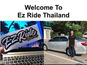 Taxi From BKK Airport To Pattaya - Ez Ride Thailand