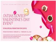 Valentine's day offer by en.tias.com on Titanium couple ring