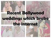 Recent Bollywood weddings-bollywood news-Daily Bollywood Dose