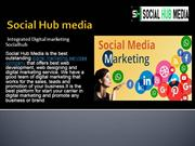 Best  leading Social Media Marketing Company | Social Hub Media