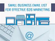 Small Business Email List For Effective B2B Marketing - eSalesData