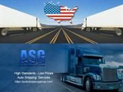 High Standards - Low Prices - Auto Transport Services