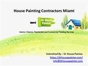 House Painting Contractors Miami – Dr House Painter