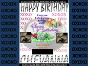 HappyBirthday Chevanna XOXO