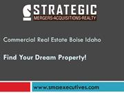 Commercial Real Estate Boise Idaho - SMA Executives