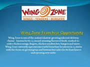 Chicken Wings Fast Food Franchise