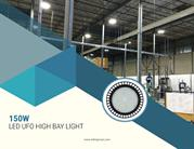 150W LED UFO High Bay Lights - Warehouse LED Lighting