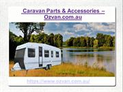 Online Sale Of Caravan Parts & Caravan Awnings In Australia