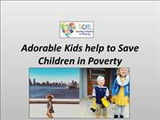 Adorable Kids help to Save Children In Poverty