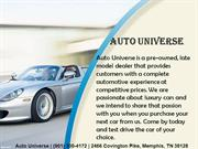 Auto car dealerships Memphis TN | Auto Universe