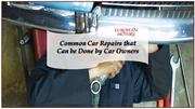 Common Car Repairs that Can be Done by Car Owners