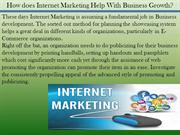 How does Internet Marketing Help With Business Growth?
