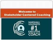 Marshall Goldsmith Certification - Executive Coaching Programs