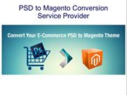 Get the best PSD to Magento Conversion Service Provider
