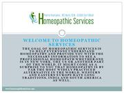 Homeopathic Services - Pierre Fontaine
