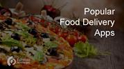 Popular Food Delivery Apps