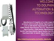Mobile Signal Booster PPT
