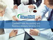 Certified Public Accounting and Business Advisory Services Firm