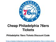 Cheap Philadelphia 76ers Las Vegas Tickets