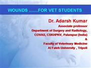 Wounds Veterinary surgery