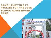 Some handy tips to prepare for the CBSE school admission in Pune