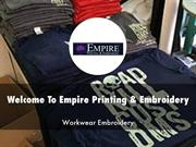 Empire Printing & Embroidery Presentation