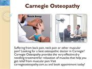 Best Osteopathic Doctor In Carnegie | Dry Needling Treatment