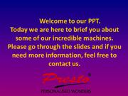 Presto Sublimation Machines Distributor - Know All About Our Machines