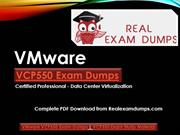 VMware VCP550 Practice Exam Questions and Answers | Realexamdumps.com