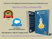 Valid Salesforce {CPQ-211} Exam Dumps - CPQ-211 Questions