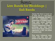 Live Bands for Weddings | Sufi Bands