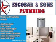 Escobar & Sons is the outstanding plumbing company