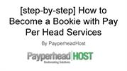 How to Become a Bookie with Pay Per Head Services
